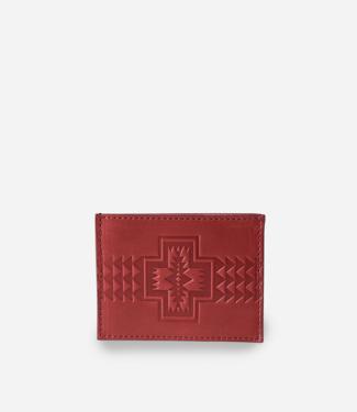 Pendleton Slim Wallet, Red