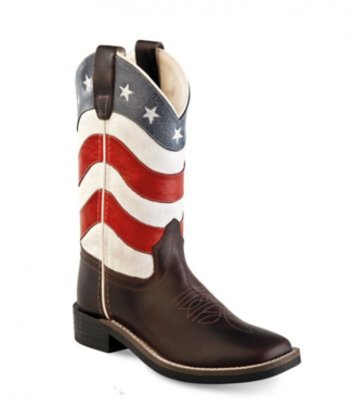 Old West Kids Americana Boots