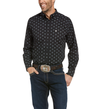 Ariat Rally Stretch Fitted Print Shirt