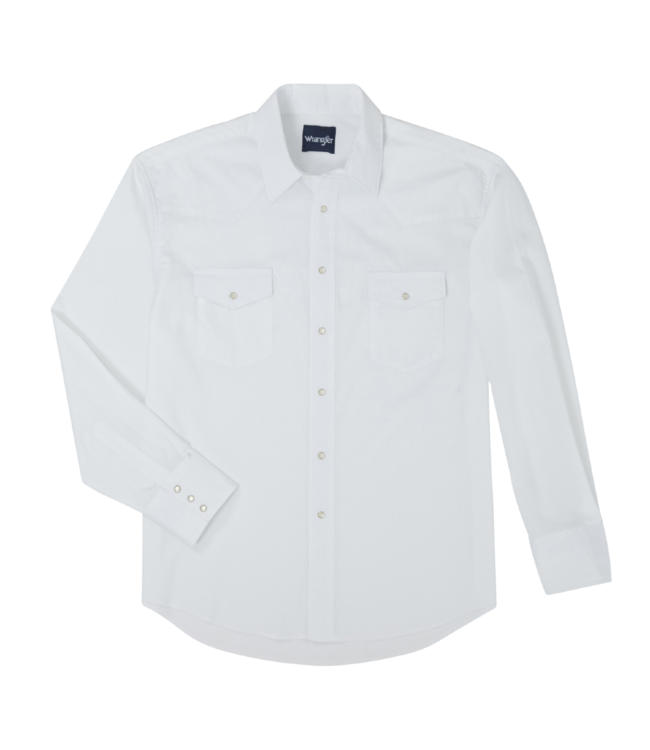 Wrangler Sport Western Solid Shirt