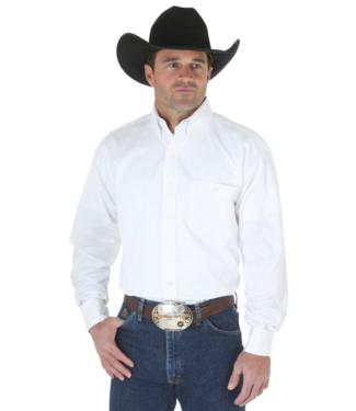 Wrangler George Strait Solid Button Shirt