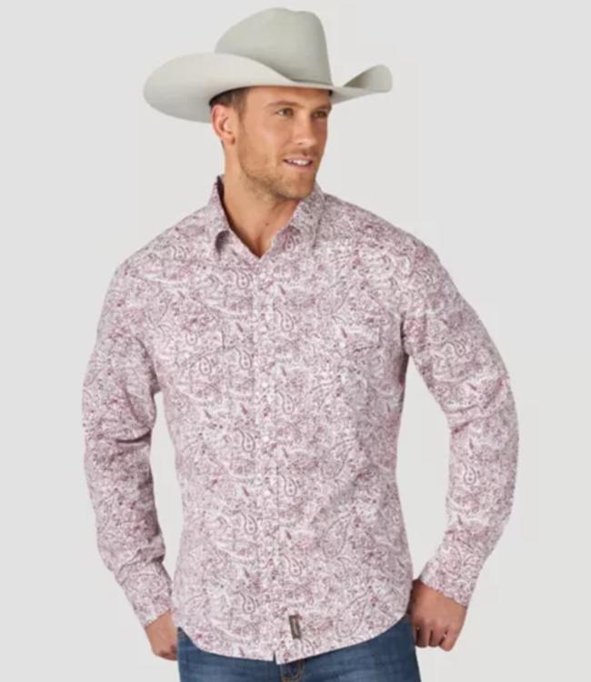 Wranlger Retro Premium Paisley Print Shirt