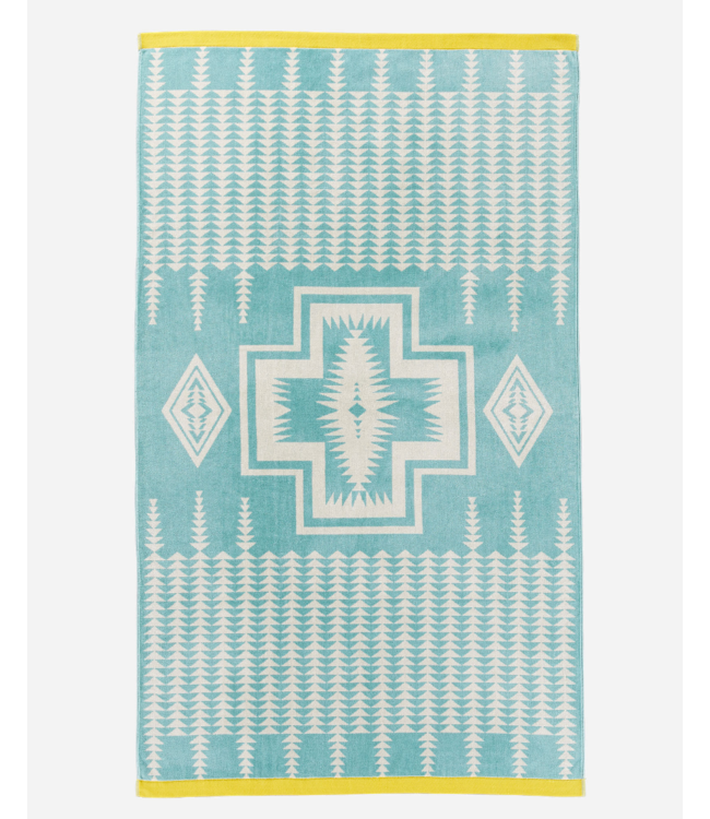Pendleton Harding Aqua Beach Towel