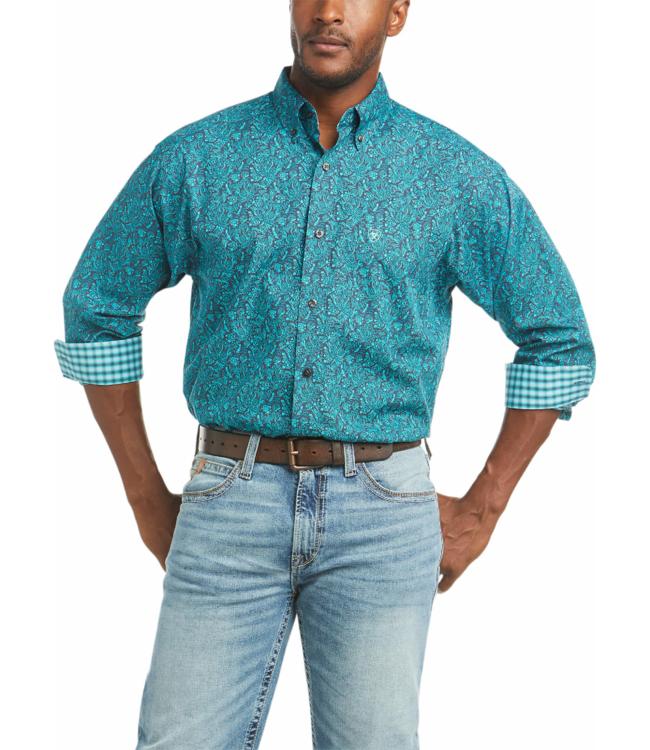 Ariat Eamon Wrinkle Free Paisley Print Shirt