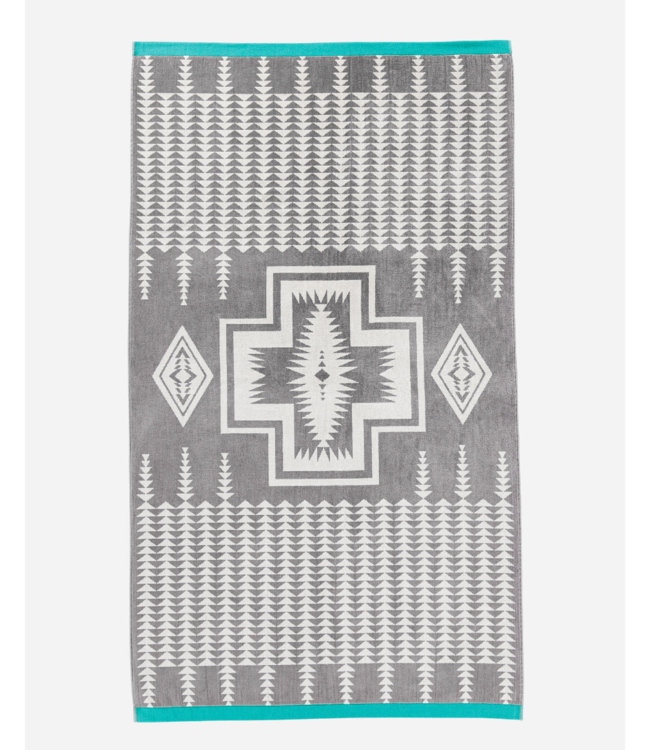Pendleton Harding Gray Beach Towel