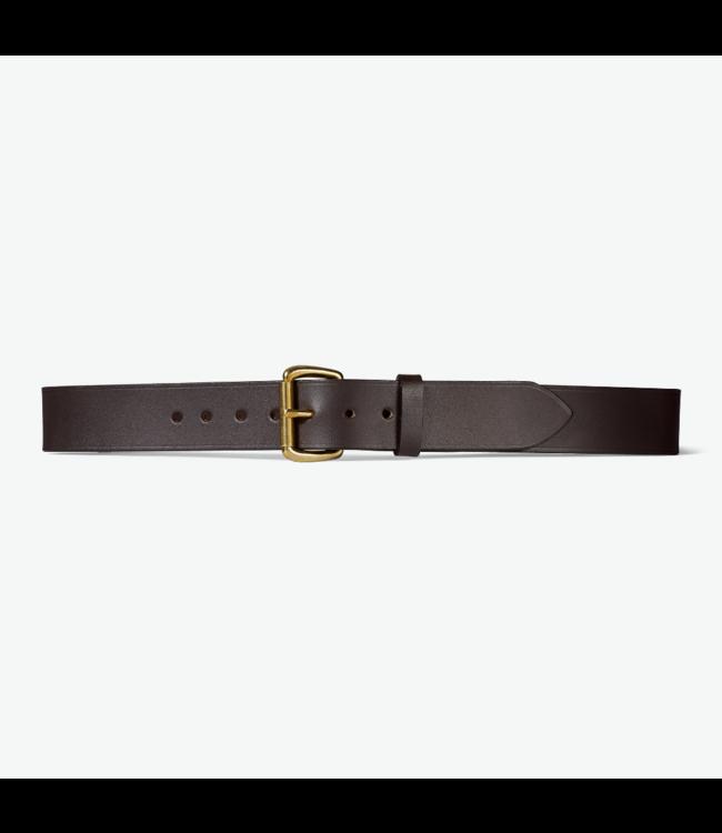 "Filson 1 1/2"" Leather Belt"