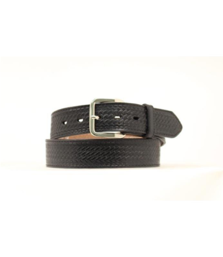 "M&F 1-1/2"" Embroidered Belt with Bill Compartment"