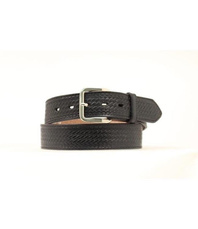 """M&F 1-1/2"""" Embroidered Belt with Bill Compartment"""