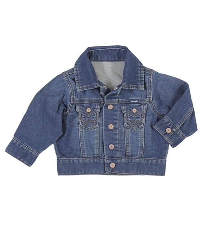 Baby Long Sleeve Classic Denim Jacket