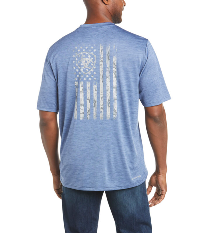 Ariat Charger Graphic Flag Tee