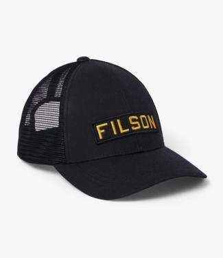 Filson Logger Mesh Cap, Black