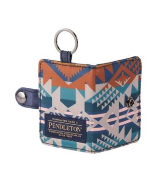 Pendleton Key Ring Wallet Journey West Slate