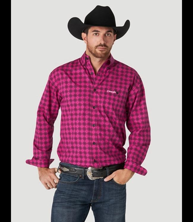 Wrangler Tough Enough To Wear Pink Print Shirt