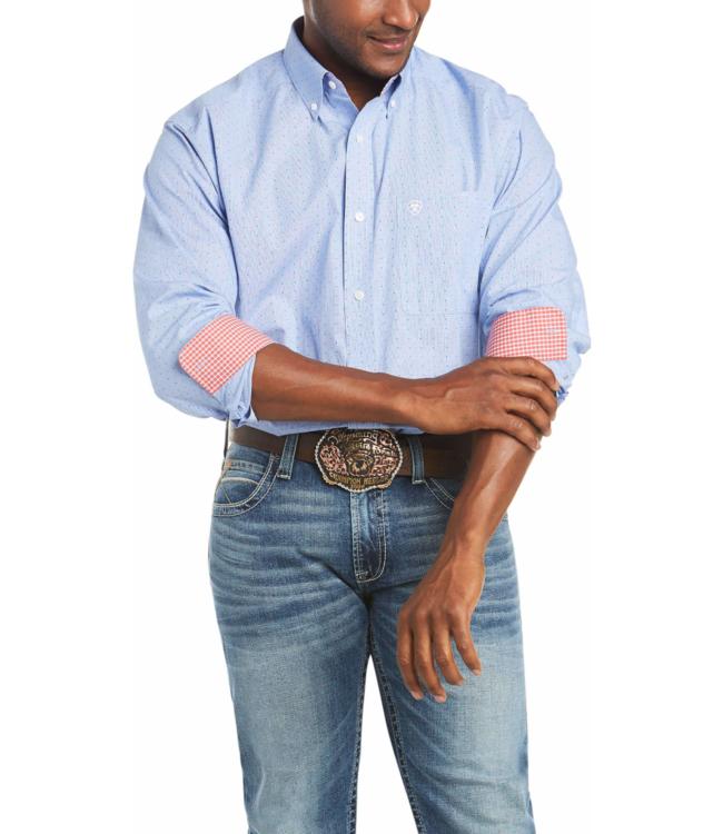 Wrangler Gavrel Wrinkle Free Print Shirt