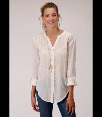 Stetson & Roper Apparel Cotton Viscose Georgette Blouse