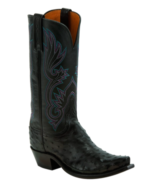 Lucchese Dolly Full Quill Ostrich Boots