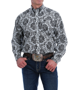 Cinch Classic Fit Paisley Print Shirt