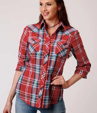 Stetson & Roper Apparel Classics Plaid Shirt