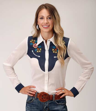 Stetson & Roper Apparel Cotton Viscose Georgette Top