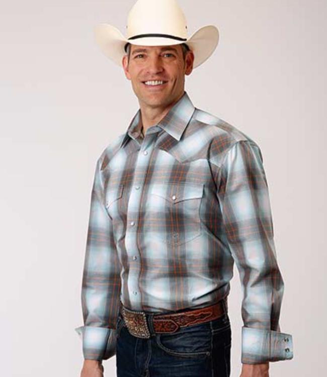 Roper Amarillo Plaid Shirt