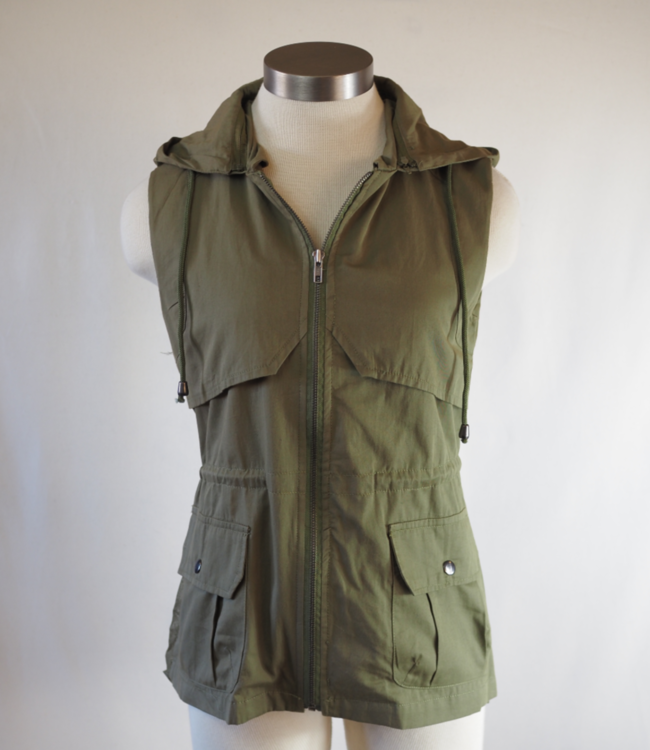 Montana Co Alternative Hooded Vest