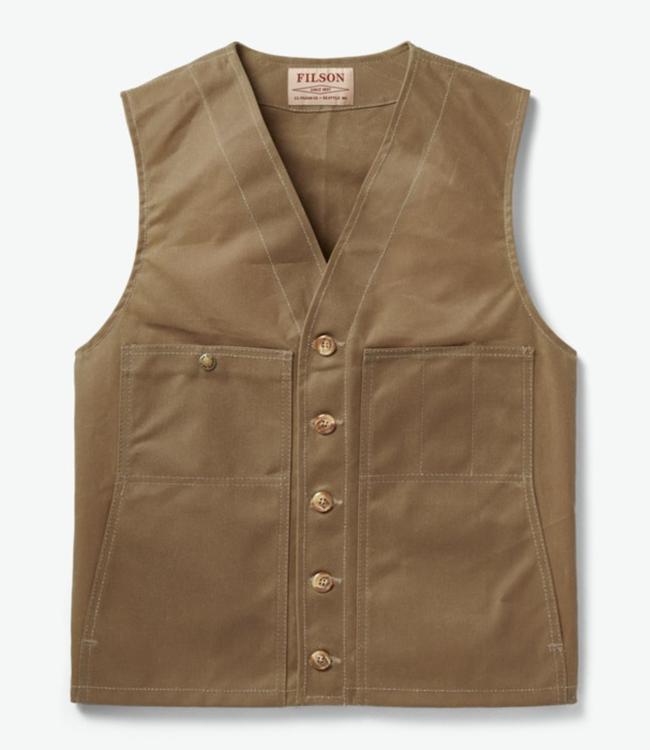 Filson Oil Tin Cloth Vest