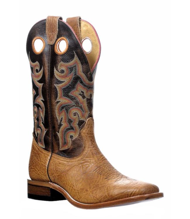 Boulet Wide Square Toe Damiana Moka Boots