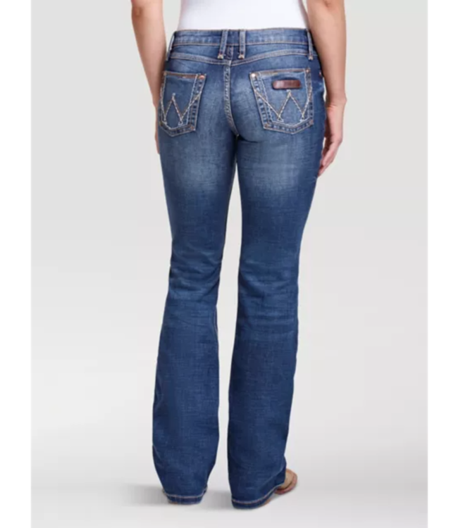 Wrangler Mae Mid Rise Boot Cut Jeans