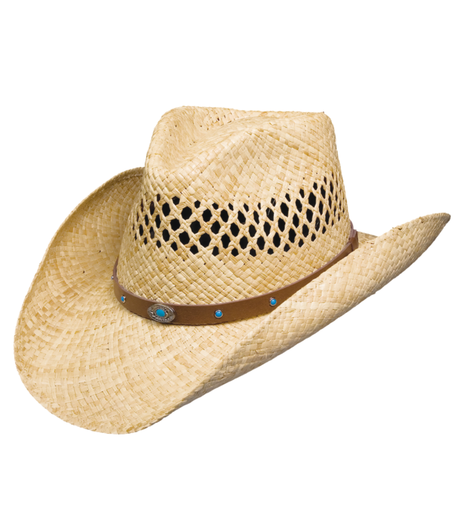 Stetson Madrid Vented Raffia Hat Outdoor Collection