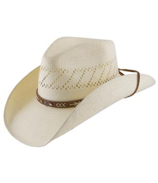Stetson & Resistol Hats Santa Fe Straw Hat