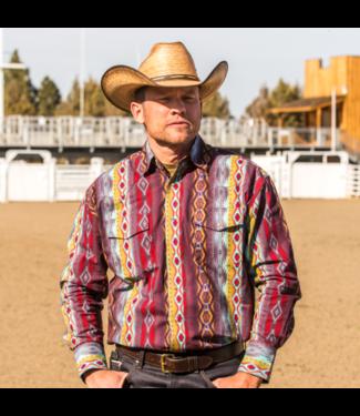 Wrangler Checotah Classic Fit Print Shirt