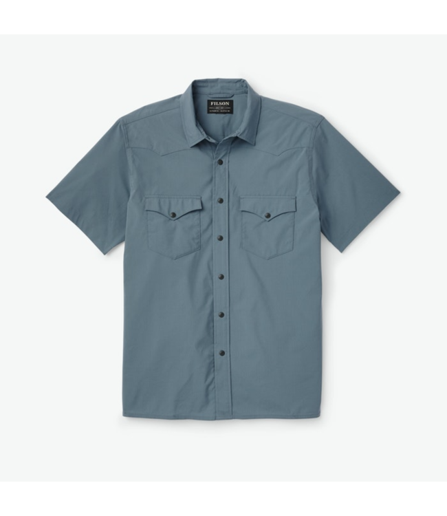 Filson Solid Snap Front Shirt