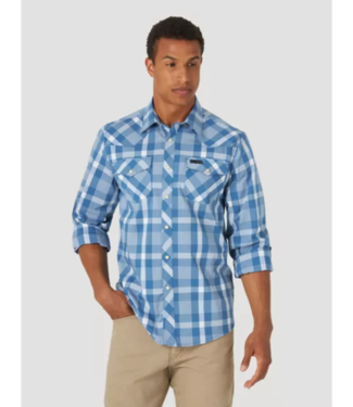 Wrangler Western Plaid Utility Shirt