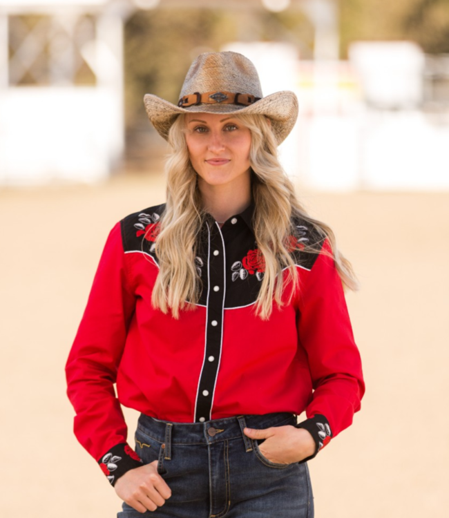 Cinch Embroidered Western Shirt