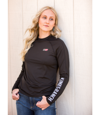 Kimes Ranch KR1 LS Performance Tee, Multiple Color Options