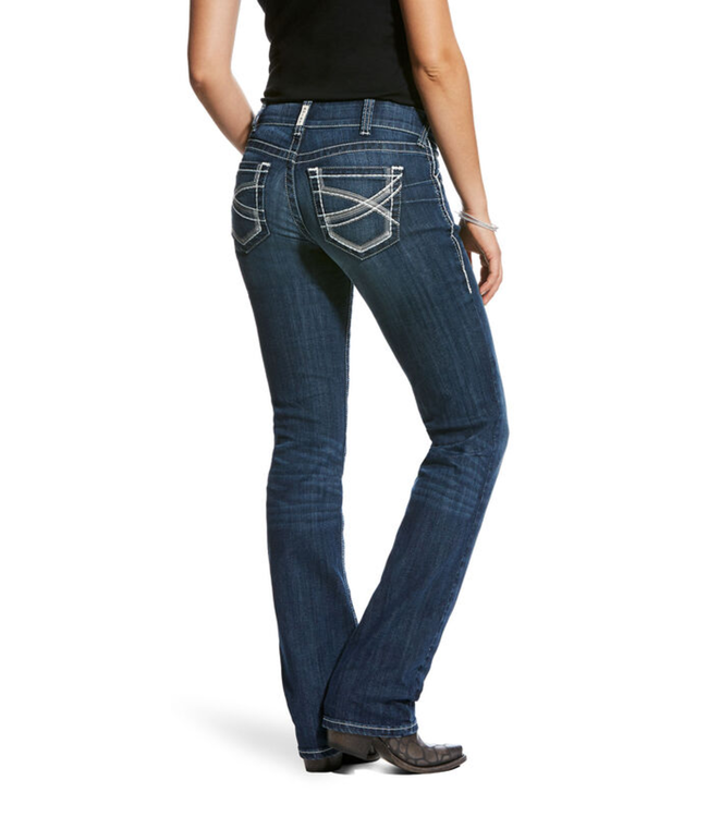 Ariat Mid Rise Stretch Straight Leg Jean