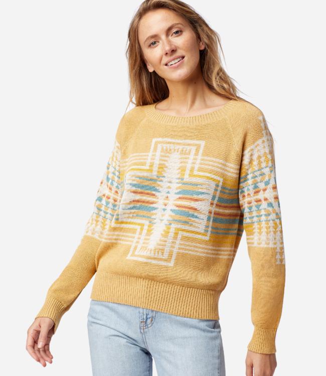 Pendleton Raglan Graphic Cotton Sweater