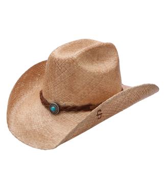 Stetson & Resistol Hats Flatrock Raffia Hat
