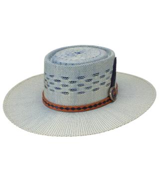 Stetson & Resistol Hats Blue Roan Straw Hat