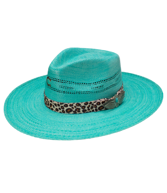 Charlie 1 Horse Right Meow Straw Hat