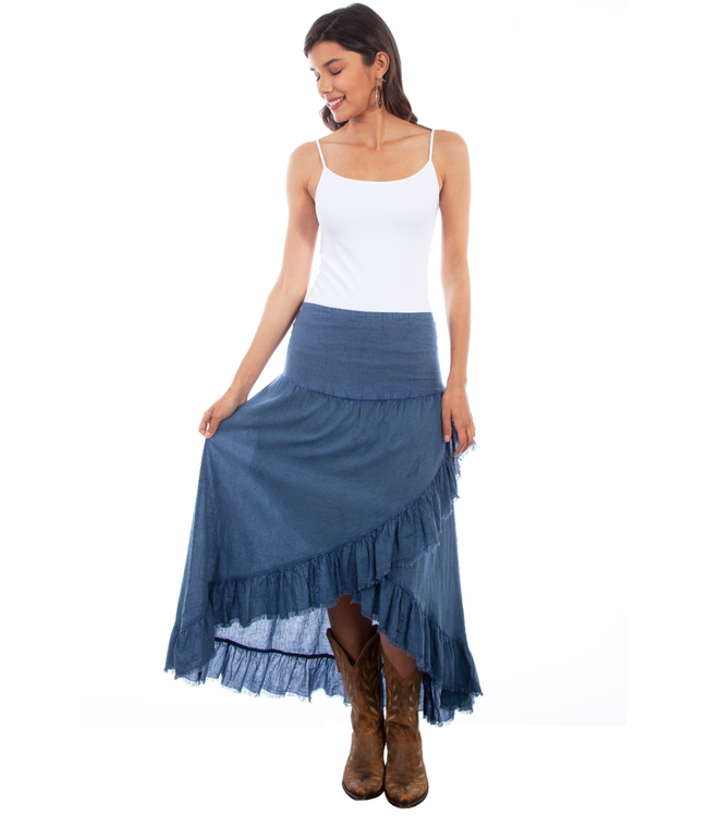 Scully Hi-Low Tiered Skirt