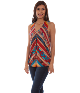 Scully Fly Away Serape Tank