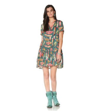 Double D Ranch Flight Feather Dress
