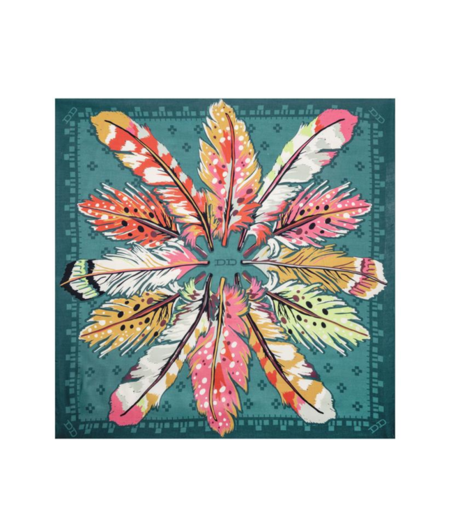 Double D Ranch Flight Feather Scarf