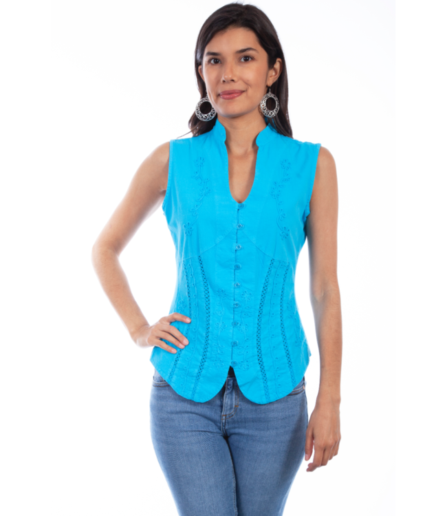 Scully Sleeveless Blouse