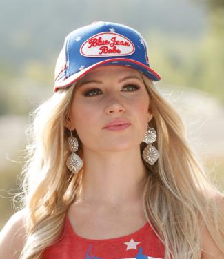 Cinch Americana Snapback Cap, Multi
