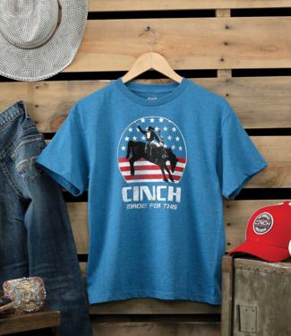 Cinch Boys Americana Print Tee