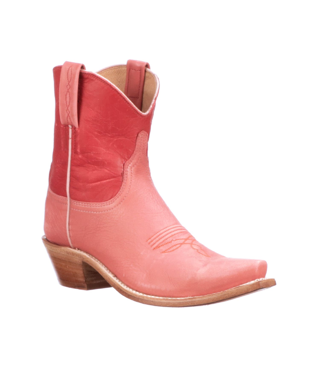"""Lucchese Gaby 7"""" Shortie Goat Boots"""