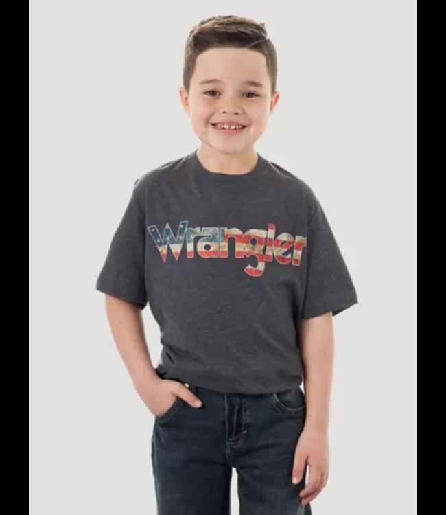 Wrangler Boys Logo Short Sleeve Tee