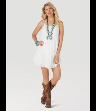 Wrangler Tiered Sleeveless Dress